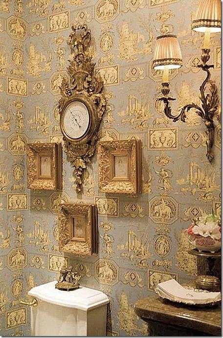 48 Best ♔French Inspired Bathroom♔ Images On Pinterest Regarding French Bathroom Wall Art (View 10 of 20)