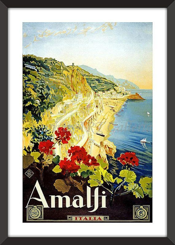 48 Best Italian Travel Posters Images On Pinterest | Vintage For Italian Travel Wall Art (Image 4 of 20)