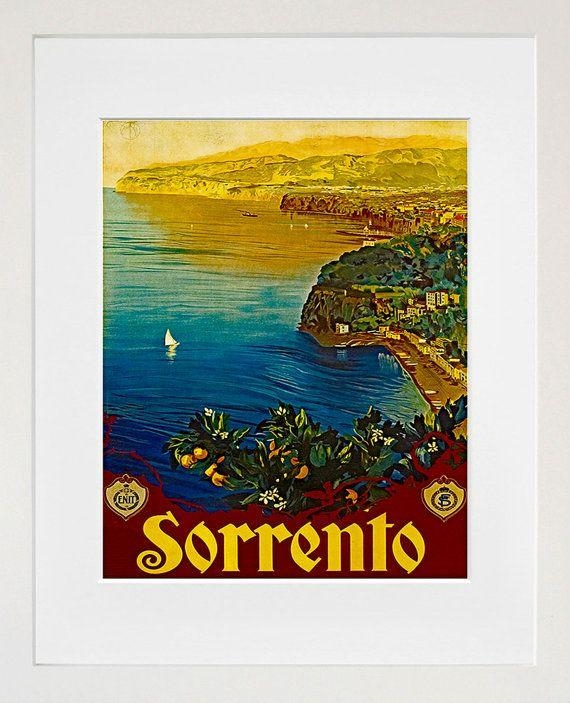 48 Best Italian Travel Posters Images On Pinterest | Vintage Regarding Italian Travel Wall Art (Image 5 of 20)
