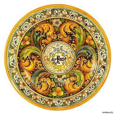 49 Best Medallions Images On Pinterest | Mandalas, Mosaics And Tiles Inside Italian Plates Wall Art Sets (Image 4 of 20)