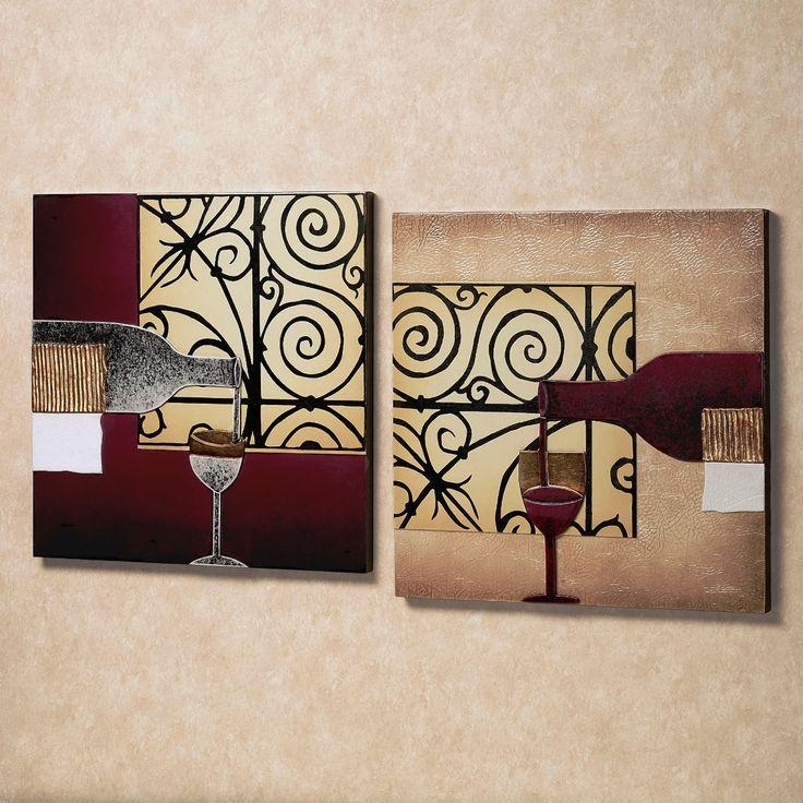 49 Best Wall Art Ideas Images On Pinterest | Canvas Wall Art With Wine Themed Wall Art (Image 1 of 20)