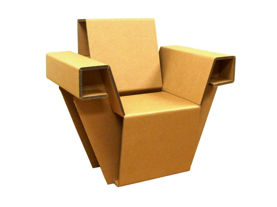 5 Amazing Pieces Of Cardboard Furniture | Rajapack Packaging Blog Inside Cardboard Sofas (Image 4 of 20)
