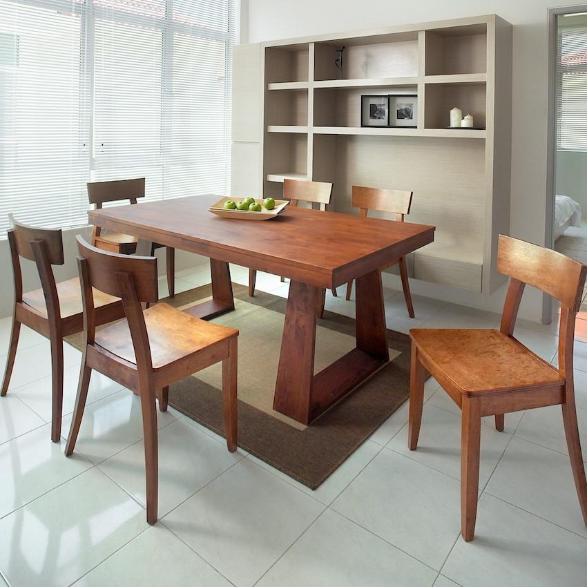 5 Amazing Wooden Dining Room Sets To Inspire You Within Most Recent Wooden Dining Sets (Image 2 of 20)