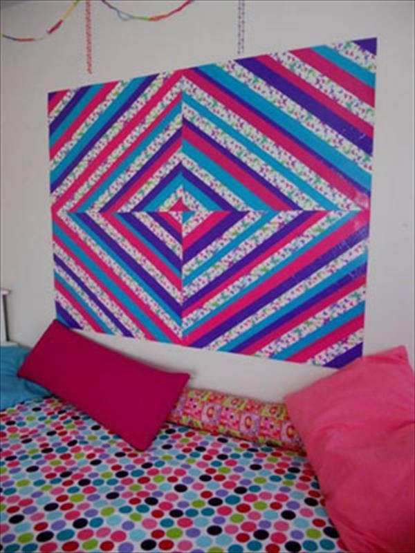 5 Diy Cool And Entertaining Duct Tape Crafts | 101 Duct Tape Crafts Inside Duct Tape Wall Art (Image 3 of 20)