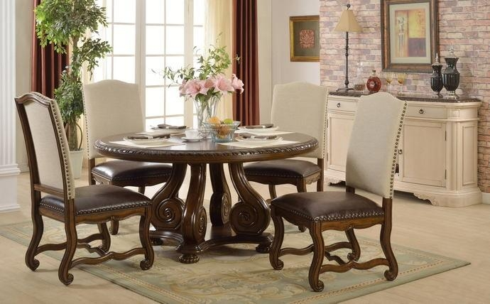 5 Pc Monaco Collection Dark For Current Monaco Dining Sets (Image 1 of 20)