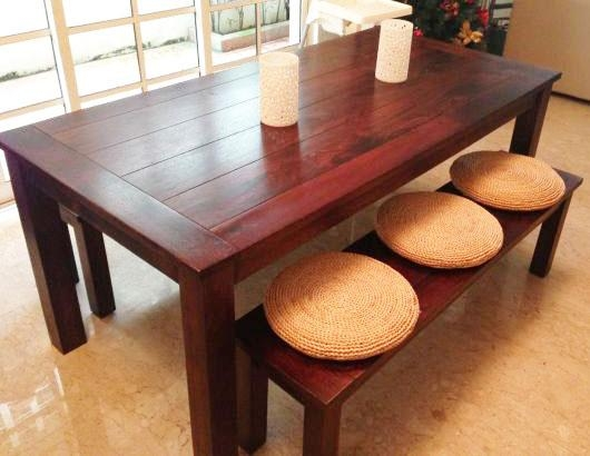 5 Sets Of Dining Tables (From $80 To $2,400) Within Most Recently Released Balinese Dining Tables (Image 4 of 20)