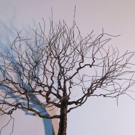 52 Best Sculptures Images On Pinterest | Tree Sculpture, Wire In Copper Oak Tree Wall Art (Image 10 of 20)