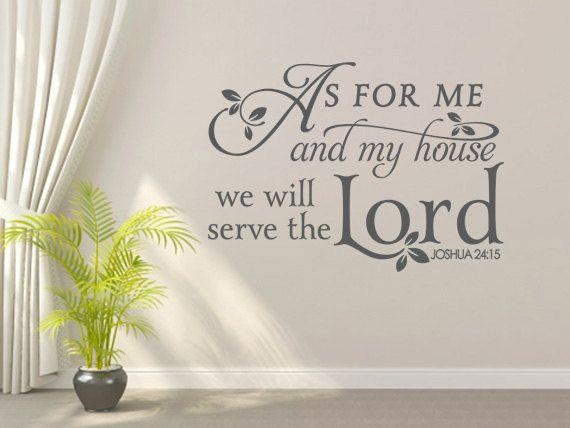 54 Best Christian Vinyl Wall Art Images On Pinterest | Vinyl Wall Pertaining To Scripture Vinyl Wall Art (View 19 of 20)