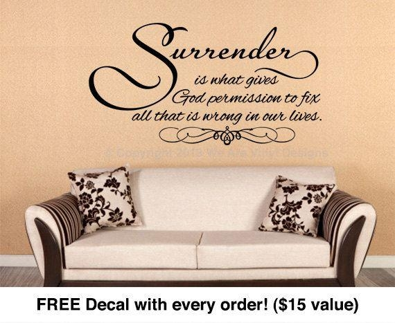 54 Best Christian Vinyl Wall Art Images On Pinterest | Vinyl Wall Regarding Scripture Vinyl Wall Art (View 6 of 20)