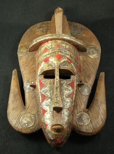 54 Best Masks Images On Pinterest | African Art, African Masks And In Wooden Tribal Mask Wall Art (View 12 of 20)