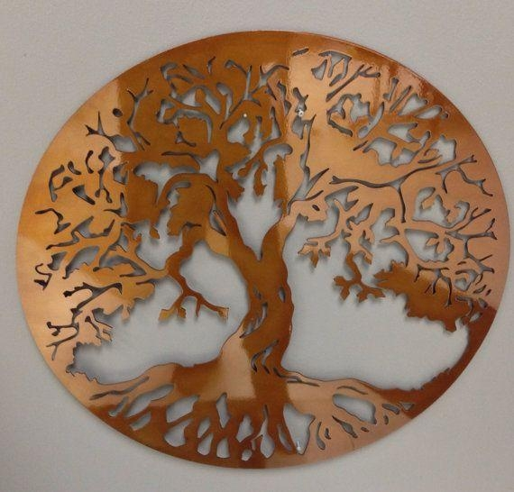 55 Best Metal Art Images On Pinterest | Metal Walls, Metal Wall With Copper Oak Tree Wall Art (Image 11 of 20)