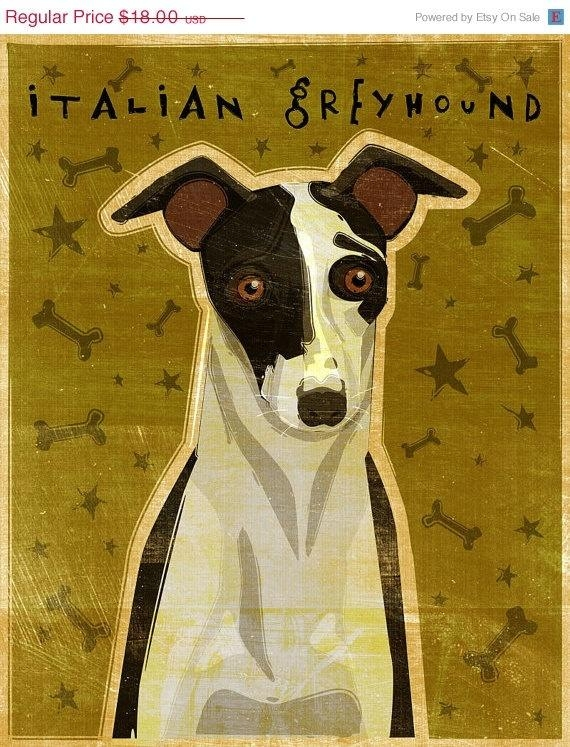 57 Best Italian Greyhound Images On Pinterest | Greyhounds Within Italian Greyhound Wall Art (View 16 of 20)
