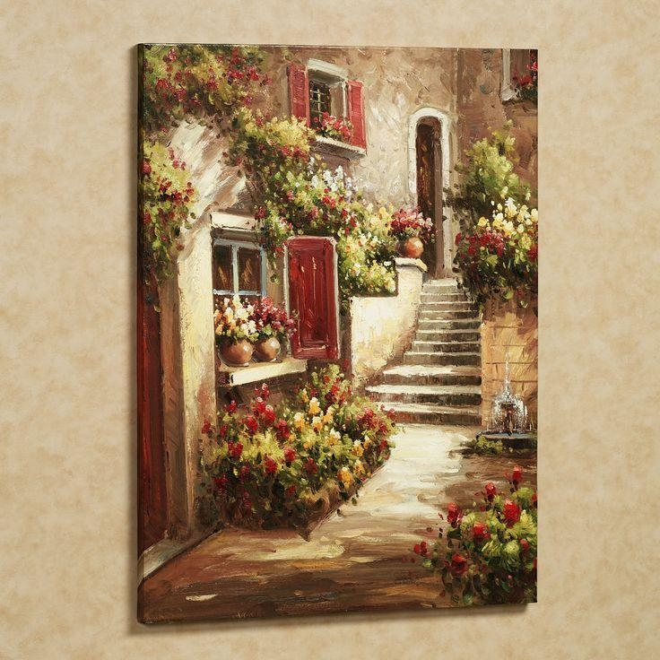 570 Best Art Designs,wall Art Designes & Etc Images On Pinterest Within Tuscan Italian Canvas Wall Art (Image 2 of 20)