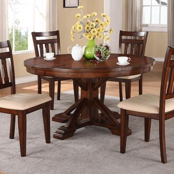 "58"" Kingston Round Dining Table In Oakwinners Only – Home For Current Kingston Dining Tables And Chairs (Photo 20 of 20)"
