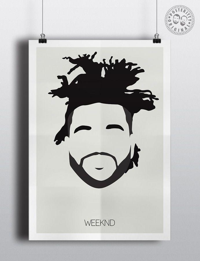 59 Best Posters And Tees Images On Pinterest | Icon Design Throughout The Weeknd Wall Art (View 18 of 20)