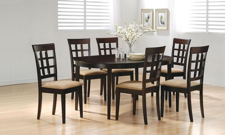 6 Chair Dining Table Good On Dining Room Tables And Black Dining With Regard To 2018 Dining Tables With 6 Chairs (Image 3 of 20)