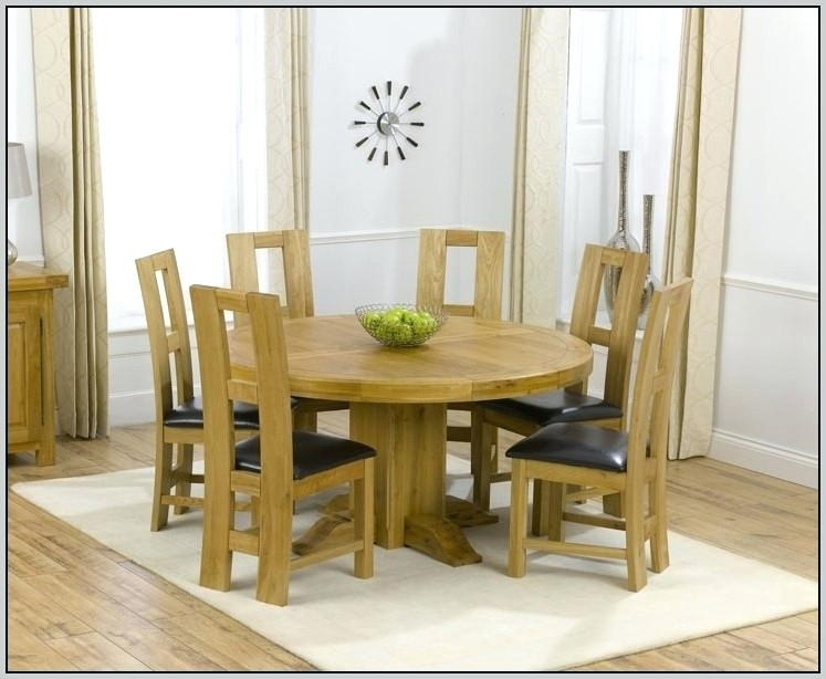 6 Chair Dining Table Modern Home Design Set Glass Topped Rhawker Regarding Most Recent 6 Chairs And Dining Tables (Image 1 of 20)