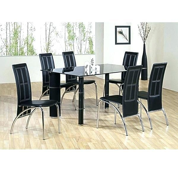 6 Chairs Dining Table Set – Mitventures (Image 1 of 20)