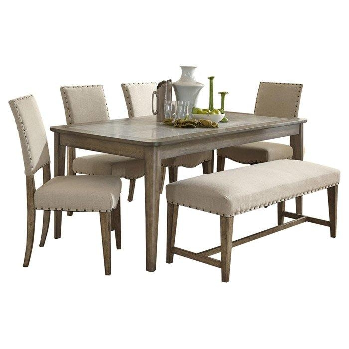 6 Piece Reynolds Dining Set & Reviews | Joss & Main For 2017 Dining Sets (View 3 of 20)