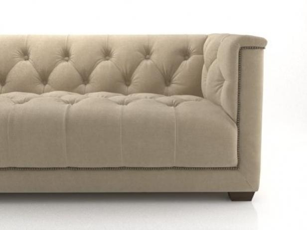 6' Savoy Sofa 3D Model | Restoration Hardware Intended For Savoy Sofas (Image 3 of 20)