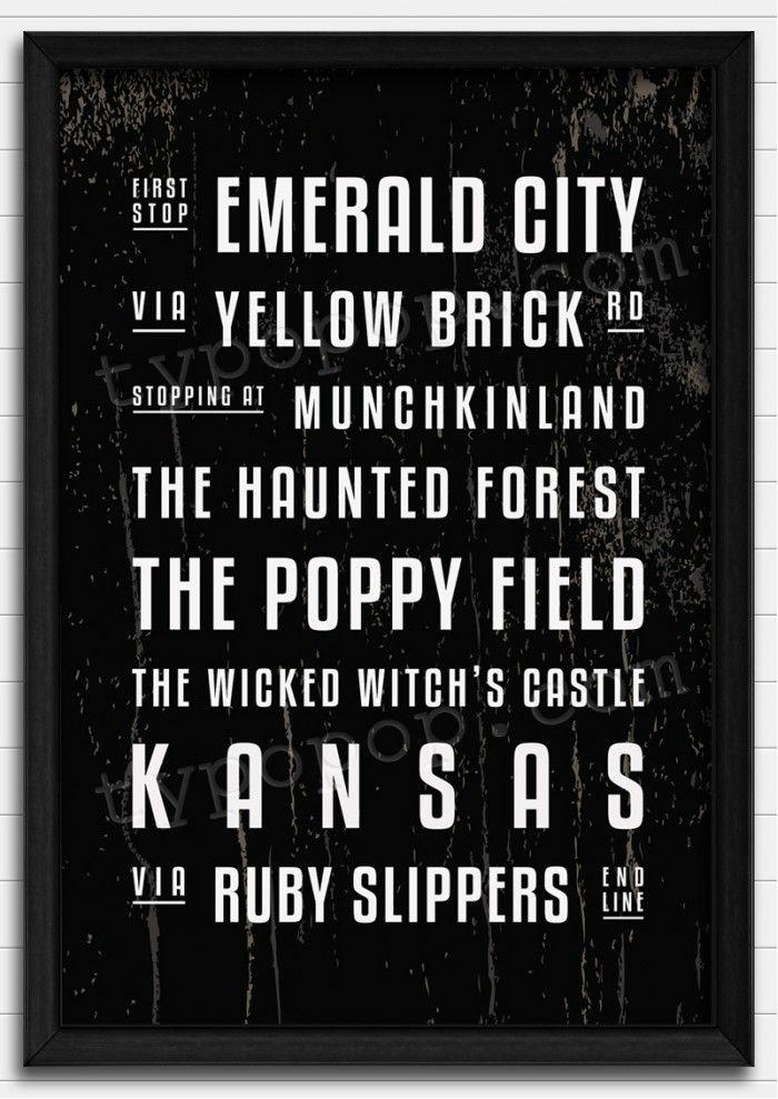 601 Best Wizard Of Oz Images On Pinterest | Wizards, Wizard Of Oz For Wizard Of Oz Wall Art (Image 5 of 20)