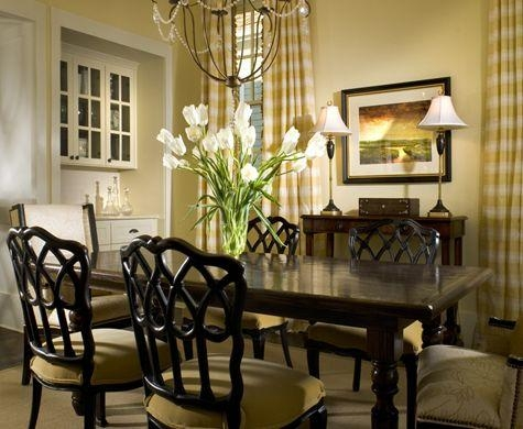 618 Best Dining Rooms Images On Pinterest | Home, Dining Room Within Most Popular Dark Dining Room Tables (View 12 of 20)