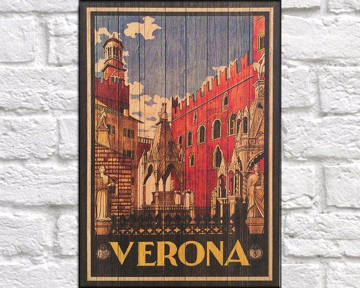 62 Best Wood Art Vintage Travel Posters Images On Pinterest Intended For Italian Wood Wall Art (Image 3 of 20)