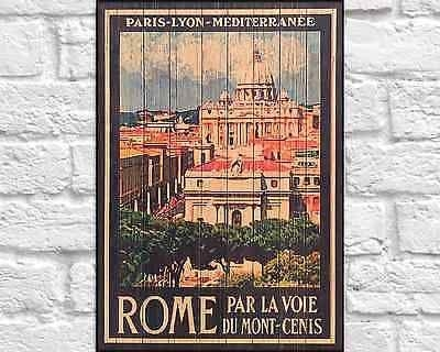 62 Best Wood Art Vintage Travel Posters Images On Pinterest With Italian Wood Wall Art (Photo 11 of 20)