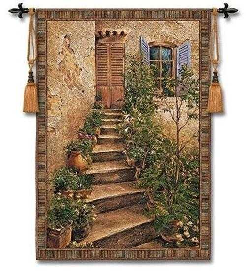 65 Best Gorgeous Tapestry's Images On Pinterest | Wall Hangings Inside Italian Villa Wall Art (Image 9 of 20)