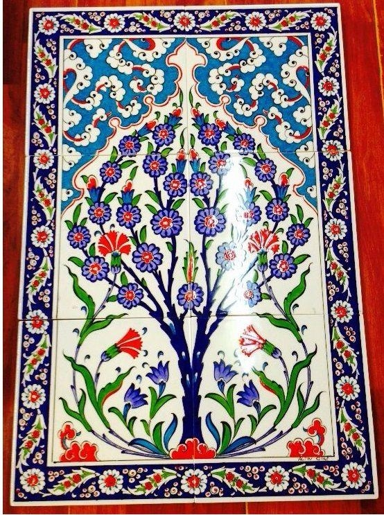 67 Best Tiles Images On Pinterest | Turkish Tiles, Tiles And For Turkish Wall Art (View 9 of 20)