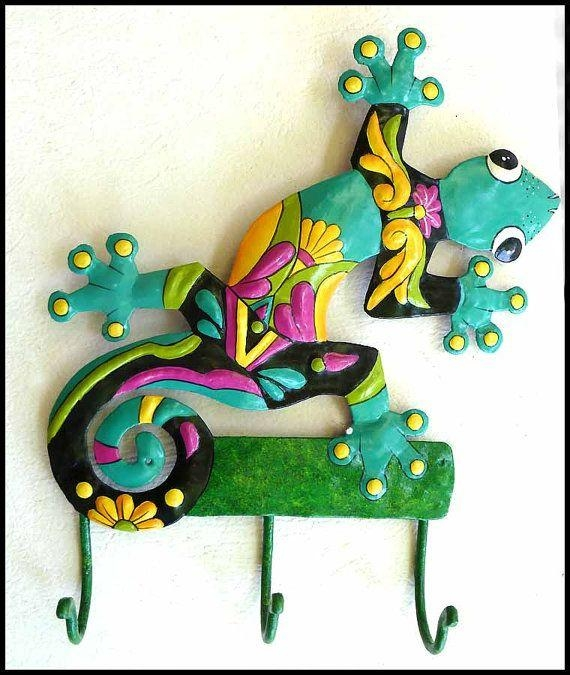 68 Best Metal Geckos & Frogs – Decorative Wall Decor From Haiti Throughout Caribbean Metal Wall Art (View 10 of 20)