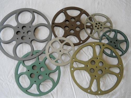 7 Best Vintage Film Reels Images On Pinterest | Film Reels, Movie Regarding Movie Reel Wall Art (Image 2 of 20)