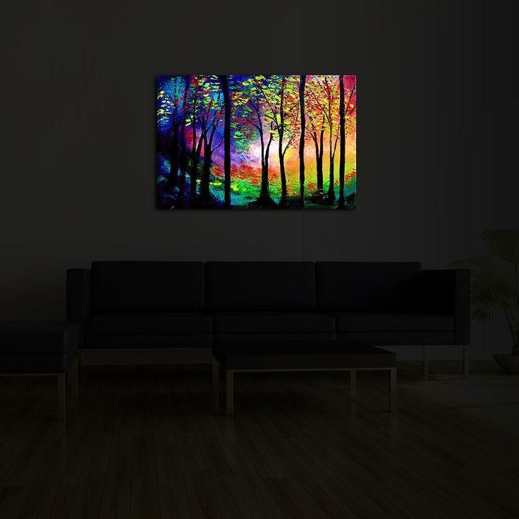 70 Best Led, Fiber Optic, Neon, And Lights For Art And Home Decor With Fiber Optic Wall Art (Photo 20 of 20)