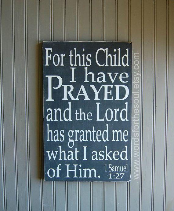 72 Best Dino Nursery Images On Pinterest | Dinosaur Bedroom With Regard To For This Child I Have Prayed Wall Art (Photo 19 of 20)
