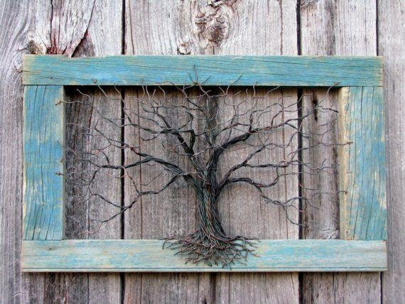 750 Best Tree Of Life Images On Pinterest | Wire Trees, Wire And Pertaining To Copper Oak Tree Wall Art (Image 12 of 20)