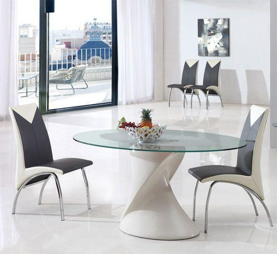 77 Best Dining Images On Pinterest | Dining Chairs, Dining Tables With Regard To Best And Newest Perth Glass Dining Tables (Image 2 of 20)