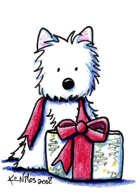 78 Best Kim Niles (Westie Drawings..adorable!) Images On In Westie Wall Art (Photo 12 of 20)