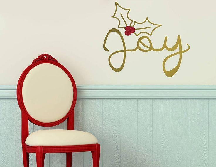 8 Best Christmas Wall Art Stickers From Smarty Walls Images On With Gold Wall Art Stickers (Photo 16 of 20)