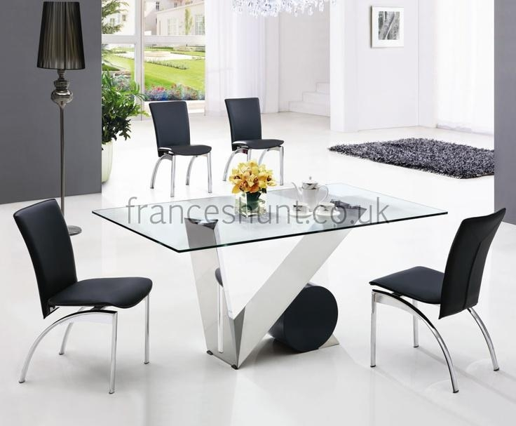 8 Best Dining Room Table Images On Pinterest | Glass Dining Table With Latest Perth Glass Dining Tables (Image 4 of 20)