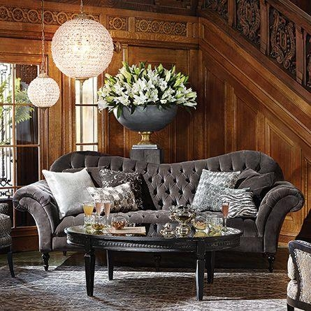 8 Best Foyer Images On Pinterest | Small Chandeliers, Poppy And Inside Arhaus Club Sofas (Image 8 of 20)
