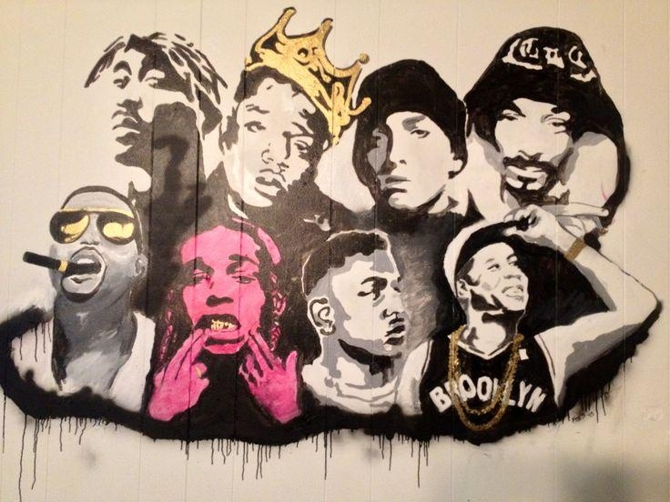 8 Best Paddle Images On Pinterest | Tupac Art, Paddle And Tupac Shakur Pertaining To Eminem Wall Art (Image 5 of 20)
