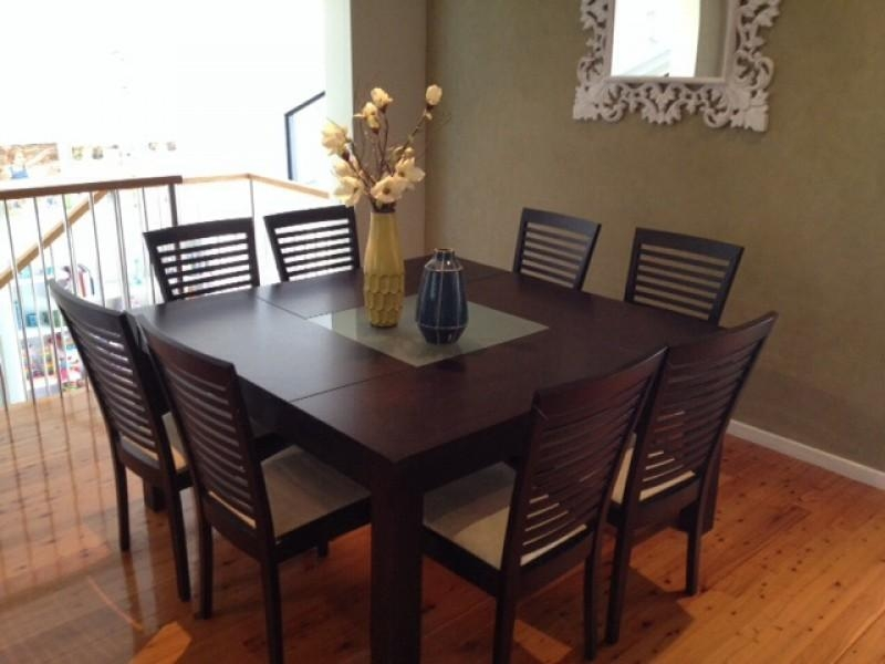 8 Chair Square Dining Table With Regard To Your Own Home Inside Newest Dining Tables For Eight (Photo 1 of 20)