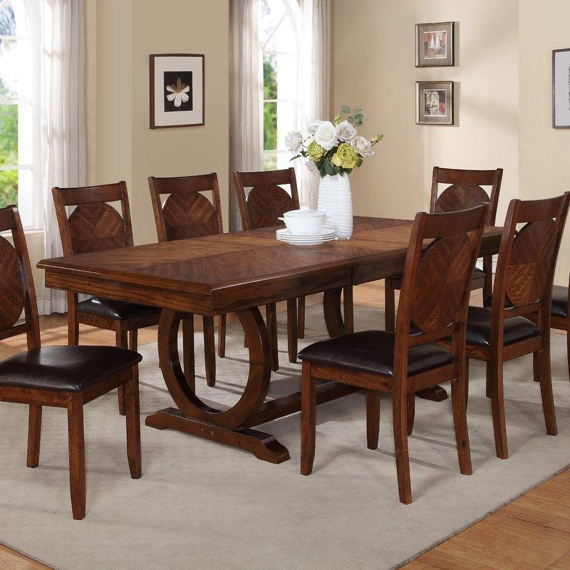 8 + Seat Kitchen & Dining Tables You'll Love | Wayfair Throughout Most Recent Dining Tables (Image 1 of 20)