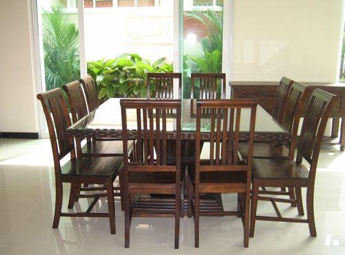 8 Seater Dining Tables And Chairs #4051 Inside Recent Dining Tables For  (Image 3 of 20)