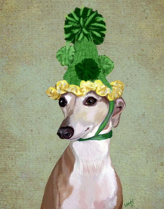80 Best World: Greyhounds Images On Pinterest | Italian Greyhound Within Italian Greyhound Wall Art (View 3 of 20)