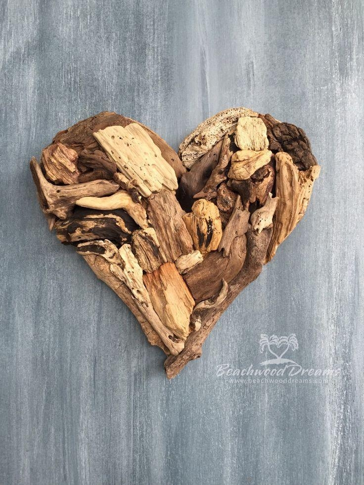 84 Best Driftwood Art Images On Pinterest | Driftwood Art, Drift Throughout Driftwood Heart Wall Art (Image 4 of 20)