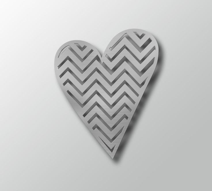 86 Best Metal Wall Artarte & Metal Images On Pinterest | Metal Regarding Heart Shaped Metal Wall Art (View 11 of 20)