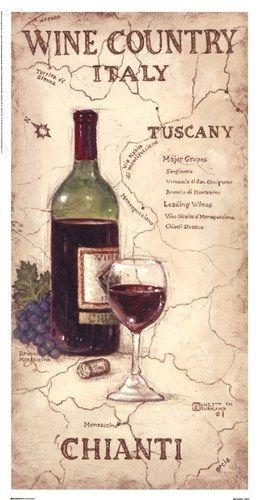 87 Best Vinos Images On Pinterest | Wine Art, Wines And Pictures In Italian Wine Wall Art (Photo 3 of 20)