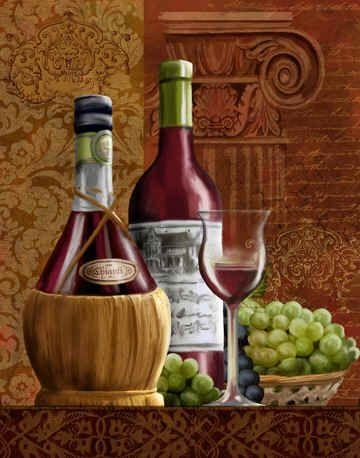87 Best Vinos Images On Pinterest | Wine Art, Wines And Pictures Inside Italian Wine Wall Art (Image 7 of 20)