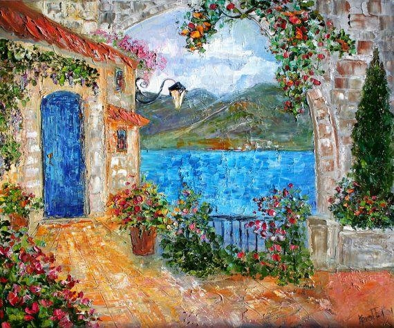88 Best Capri And Amalfi Coast Images On Pinterest | Amalfi Coast For Italian Coast Wall Art (View 15 of 20)